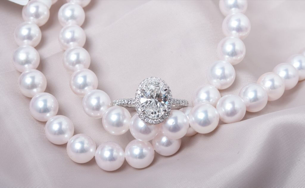 pearl necklace and diamond ring buyback blog
