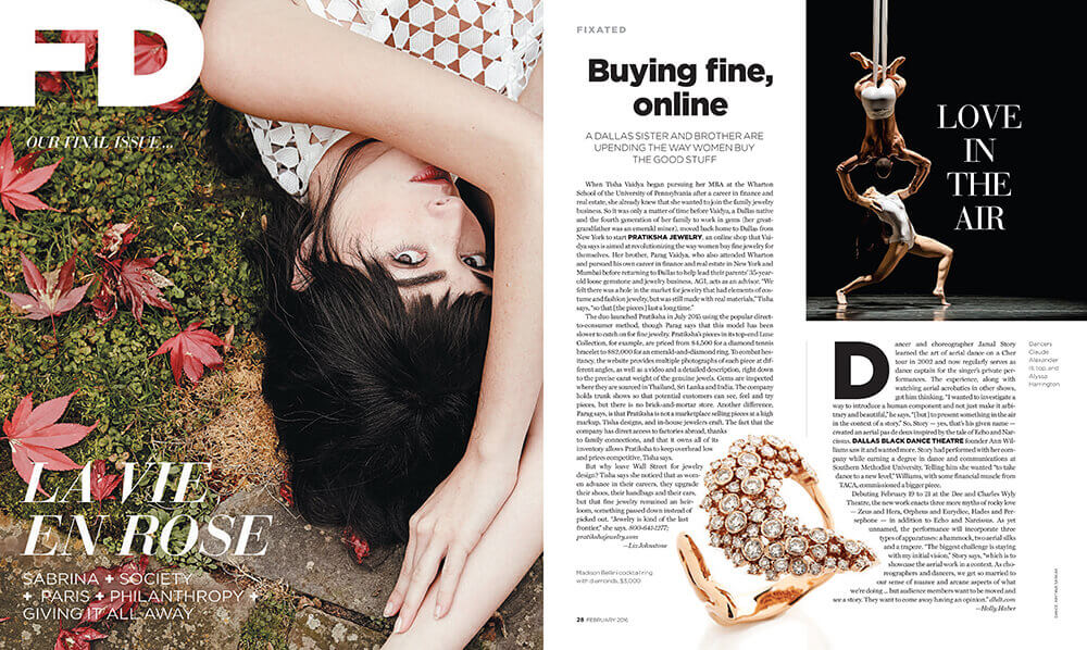 fd luxe article with pratiksha jewelry buying jewelry online