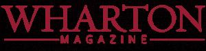 wharton magazine logo