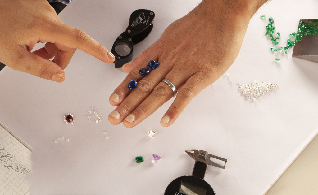 selecting sapphires for purchase About PJ Buyback